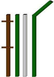 изготовление металлические столбы в Кирове