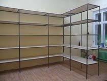 Изготовление, монтаж металлические стеллажи в Кирове и пригороде
